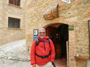 Me at La Bodega del Camino (Lorca, Navarra)