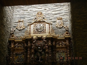 Wonderful Altarpiece in the Iglesia La Virgen del Camino