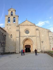 Church at the Monesterio de San Juan de Ortega