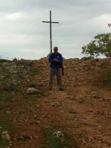 Me at the top of the Sierra Atapuerca