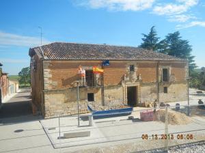 Ayuntamiento (town hall) in Villalcázar de Sirga
