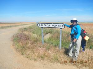 "Finally La Calzada Romana!! Those of you that really know me will know that I'm a student of Roman history. Well on this day last year this is what I wrote about this epic day: ""I'm feeling euphoric today after walking on a Roman Road! It was a 31 km stage today that did not dampen my spirits. I felt like a Roman Legionaire marching 2000 years ago on what is the most perfect extant stretch of Roman road in all of Spain."""
