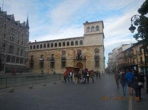 The Palacio de los Guzmanes - Home of the Diputación Provincial de León