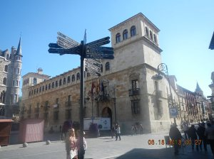 The Palacio de los Guzmanes - Home of the Diputación Provincial de León