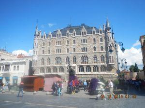 Gaudi's famous Casa de Botines
