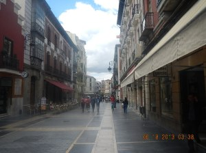 "La Calle Ancha which translates to ""the wide street"""