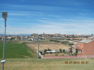Astorga as seen from the surburbs.