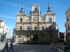 The Ayuntamiento in the Plaza Mayor