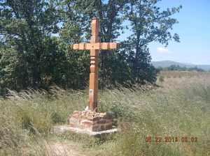 Tribute to a fallen peregrina