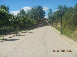 Entering Rabanal del Camino