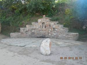 Monument outside of Rabanal