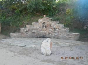 Monument outside of Rabanal