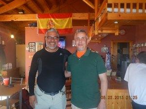 Marcos, ex-paratrooper and my host at La Taberna de Gaia in Foncebadón