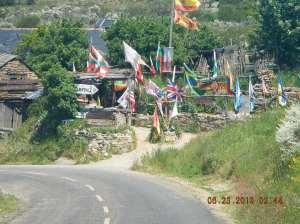Manjarín and its communal albergue
