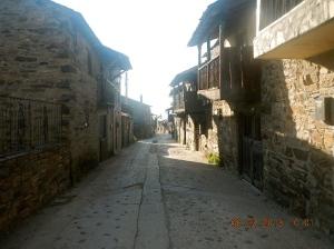 Acebo, a typical Roman plan town