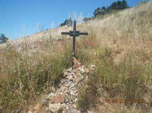 Tribute to a fallen Peregrino