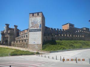 The magnificant Templar Castle!