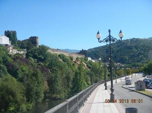 The Pons Ferrada Bridge