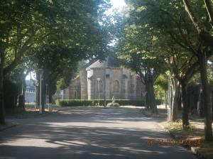 The small but beautiful Iglesia Santa María in Compostilla