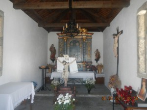 Interior of the Ermita Santo Cristo