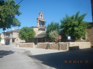 La iglesia de Nuestra Señora de La Asunción in Fuentes Nuevas