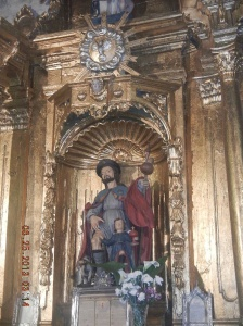 Inside the Ermita de San Roque