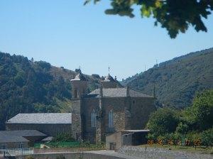 The Monasterio de San Francisco - 13th century. To the left (unpictured) is the XV century Castillo Palacio de Los Marqueses