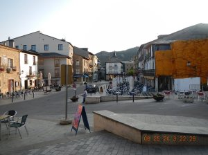 Plaza Major in Villafranca del Bierzo