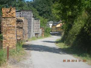 Entrance to the village of Trabadelo