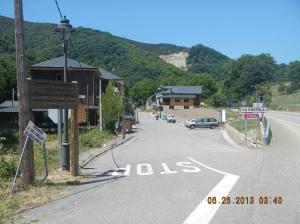 The entrance to La Portela de Valcarce