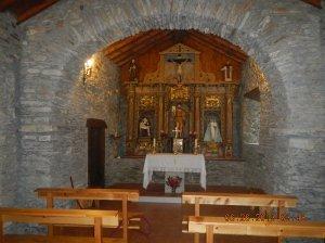 Inside la iglesia de San Juan