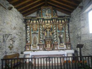 Inside the Iglesia de Nuestra Señora del Carmen