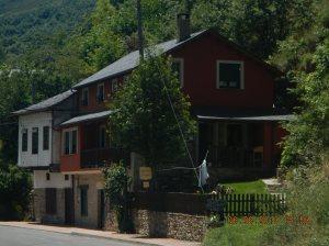 The casa rural, El Recanto, where we stayed.