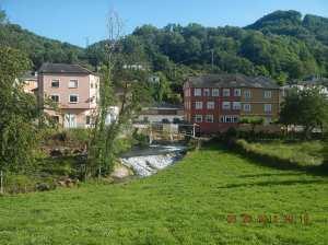 Lovely setting along the río Valcarce