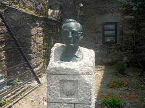 Bust of Father Elías Valiña Sampedro