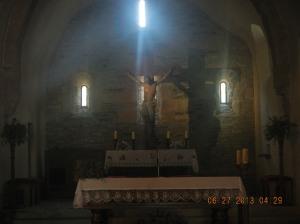 Inside La Iglesia de Santa María