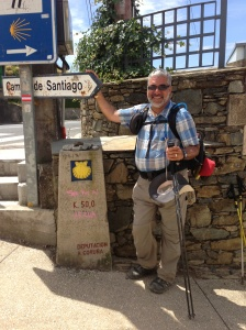 Somewhere outside of Palas de Rei with only 50 kilometers to go!!