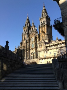 The Cathedral at Santiago de Compostela