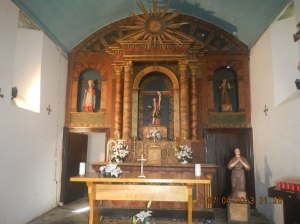 I believe that this is the Capilla de San Roque in Lavacolla
