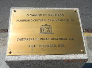 The entire Camino is a UNESCO World Heritage site.